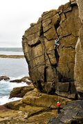 Rock Climbing Photo: Zig-Zag, Sennen