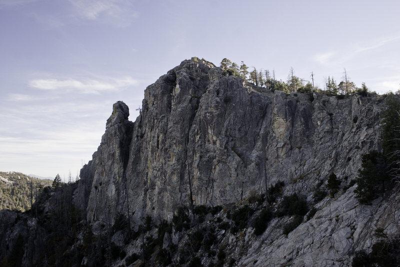 The Boneyard as seen from the Pinnacle between Ridgeline and The Boneyard
