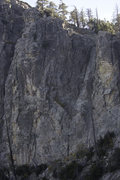 Rock Climbing Photo: The Boneyard as seen from the Pinnacle between Rid...