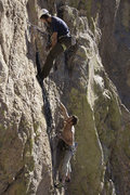 Rock Climbing Photo: Eric & Ben on Whatchamacallit