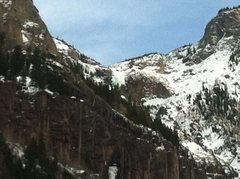 Rock Climbing Photo: Ingram Falls.
