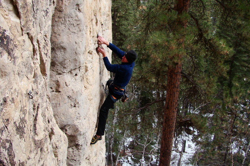 Rock Climbing Photo: With bomber pockets, huge holds and neat features ...