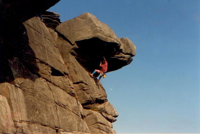 Rock Climbing Photo: Back in the Day 1986