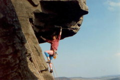 Rock Climbing Photo: 1986. Lycra rules the day!