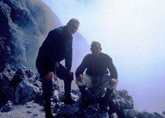 Rock Climbing Photo: Rodger Raubach (L) and Giacomo Scalet (R) on summi...