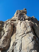Rock Climbing Photo: Better than the name implies, no doubt the crux is...