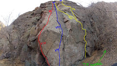 Rock Climbing Photo: Any input welcome as far as the grades go... I tho...