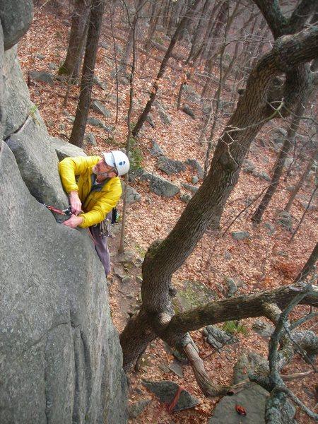 Rock Climbing Photo: Doug H. on Swillbillies #2- OldSS DL.
