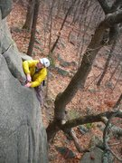 Rock Climbing Photo: Doug H. on Swillbillies #2- OldSS DL.