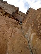 Rock Climbing Photo: 30 Seconds Over Potash