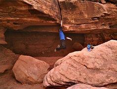 Rock Climbing Photo: Birth Canal