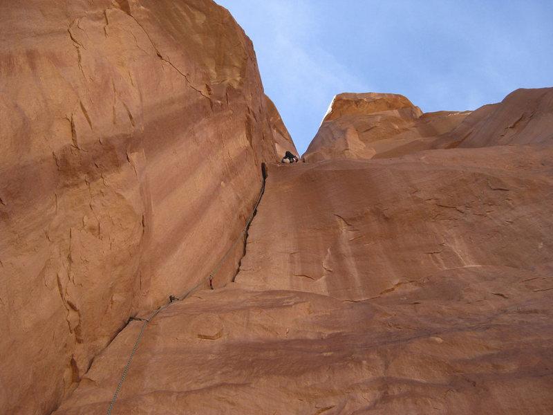 Rock Climbing Photo: Right Chimney