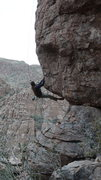 Rock Climbing Photo: Try, try, try, oooops!