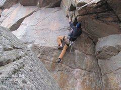 Rock Climbing Photo: Power move