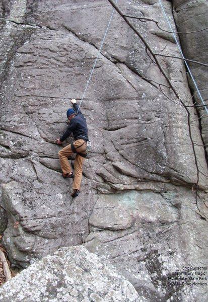 Rock Climbing Photo: Eric
