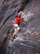 Rock Climbing Photo: Mateo on Go Ahead and Jump