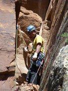 Rock Climbing Photo: pissing boy pillar first ascent colorado national ...