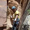 pissing boy pillar first ascent<br> colorado national monument