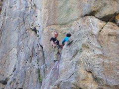 Rock Climbing Photo: country club castle rock boulder canyon colorado