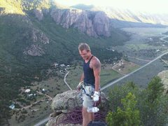 Rock Climbing Photo: guides route  unaweep canyon colorado