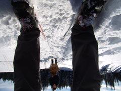 Rock Climbing Photo: Jenna and I - x-country Skiing on Rabbit Ears Pass...