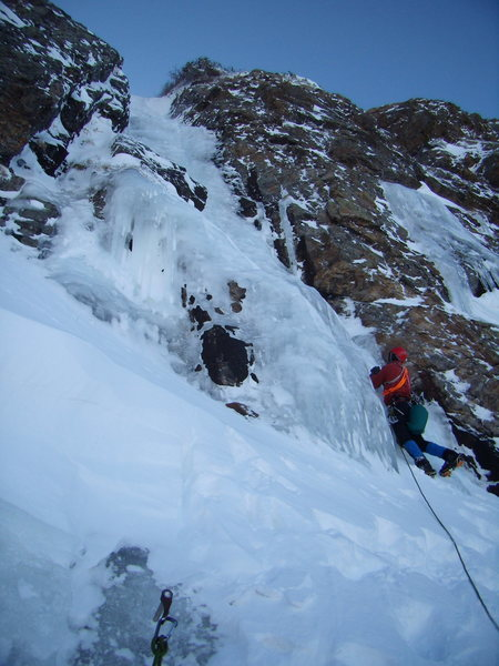 All Mixed Up - RMNP on 11/26/2011.  With Mike Walley leading the final pitch.