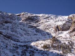 Rock Climbing Photo: All Mixed Up - RMNP on 11/26/2011. Alan Ream