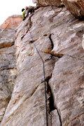 Rock Climbing Photo: DanieL ♥ crack