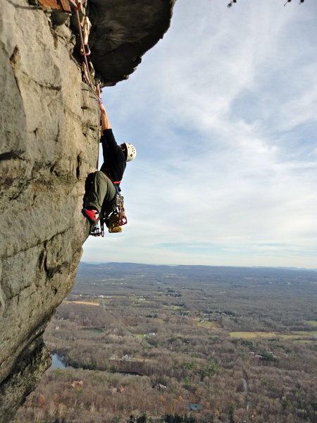 Rock Climbing Photo: Thin Sandbangs Direct