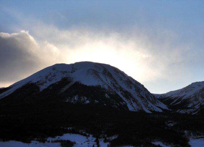 Buffalo Mountain.