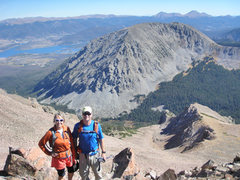 Rock Climbing Photo: Buffalo Mountain from the summit of Red Mountain.