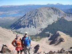 Rock Climbing Photo: Buffalo Mountain from the summit of Red Mountain.