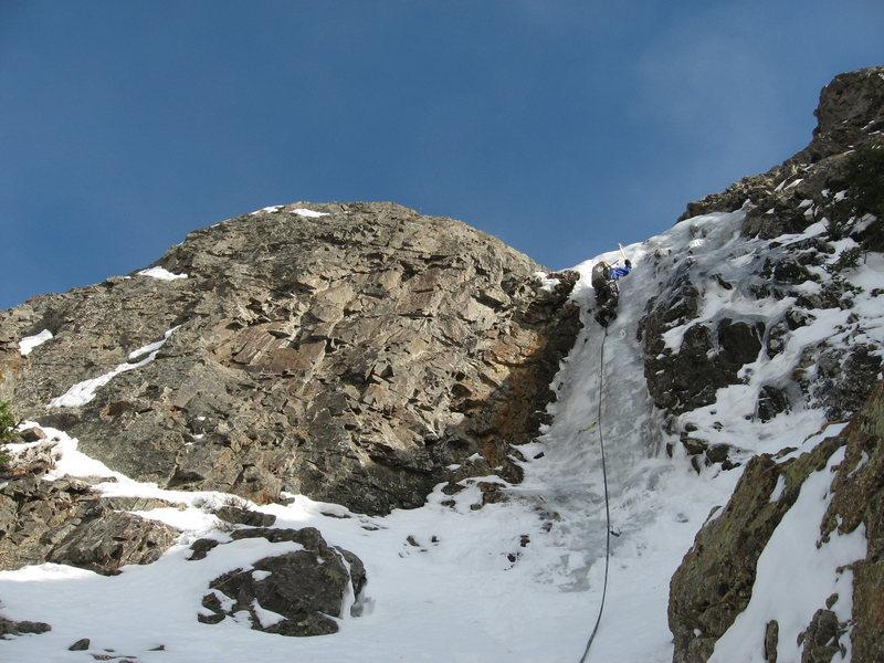 Rock Climbing Photo:  Allen Riling on P. 3.