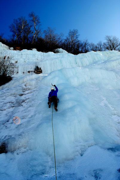 Rock Climbing Photo: Grand Island Munising Michigan