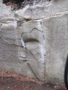 Rock Climbing Photo: Celestial Mechanics starts on the undercling and h...