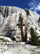 Rock Climbing Photo:  Voyager Rock, Huge dihedral at the top of the roc...