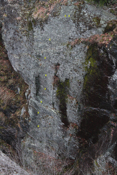 Rock Climbing Photo: i looked at this sweet looking but very remote rou...