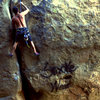 Jeff Gallegos on Maggies Farm... SmokeWeedClimbCrack