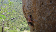 the crimpy start to geezer, fun route.