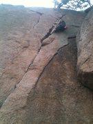 Rock Climbing Photo: eat