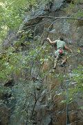 Rock Climbing Photo: Dustin on Arocknophobia