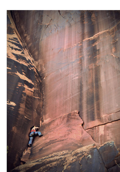 Rock Climbing Photo: Jungle Jane from Alabama gettin' the hang of it!