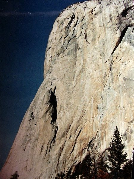 Rock Climbing Photo: El Cap, the Nose
