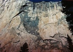 Rock Climbing Photo: El Cap- N.A Wall