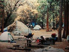 Rock Climbing Photo: Camp 4- Matt Brown trying to cook breakfast !