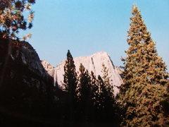 Rock Climbing Photo: Yosemite Falls -Lost Arrow Spire just before sunse...