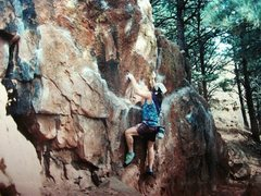 Rock Climbing Photo: Boulder- Sanitas bouldering