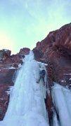 Rock Climbing Photo: Mineral Creek DNF money pitch.