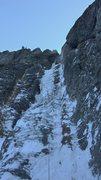 "Rock Climbing Photo: P1 of the Ribbon 11/26 ""TBI""."