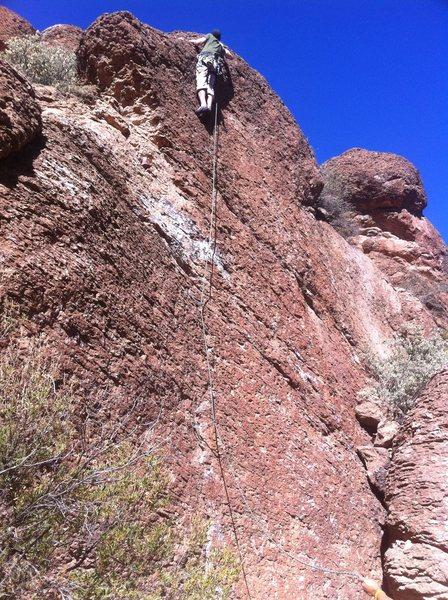 Rock Climbing Photo: 11/27/2011 C. Mancini